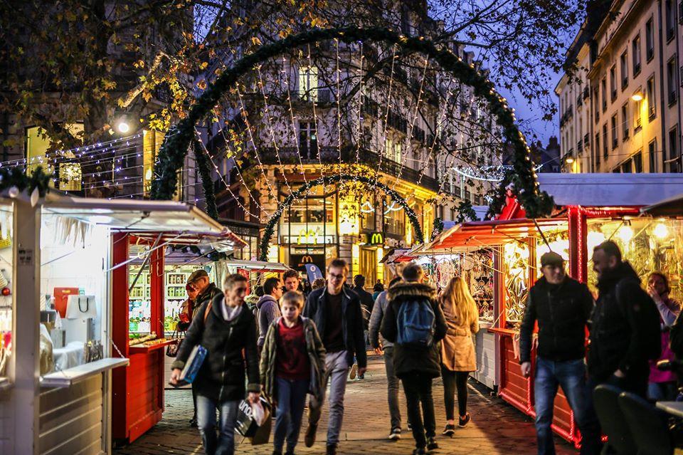 Le marché de Noël est lancé!